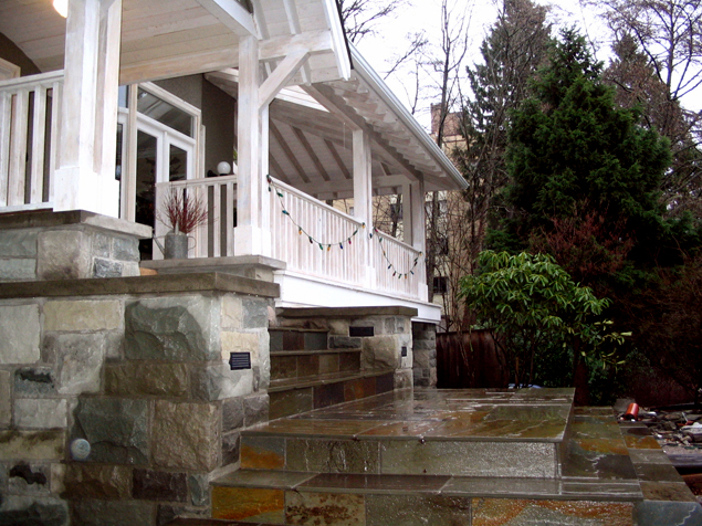 Victorian Renovation Steps & Landing