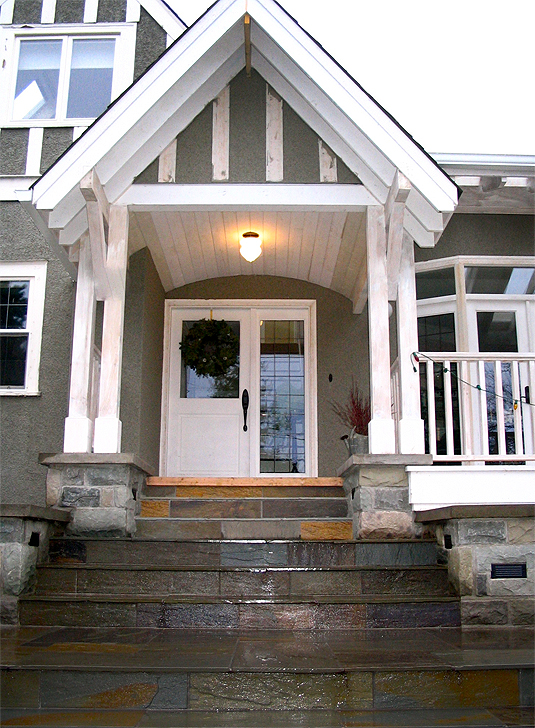 Victorian Renovation Front Entry