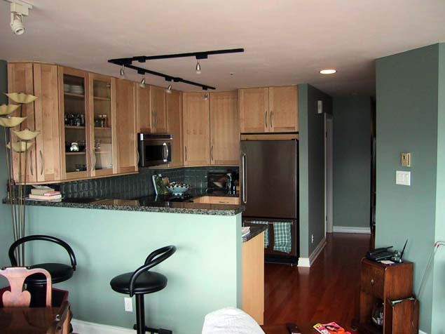Condo Renovation - Kitchen Angle
