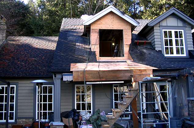 Framed Gable With Roof