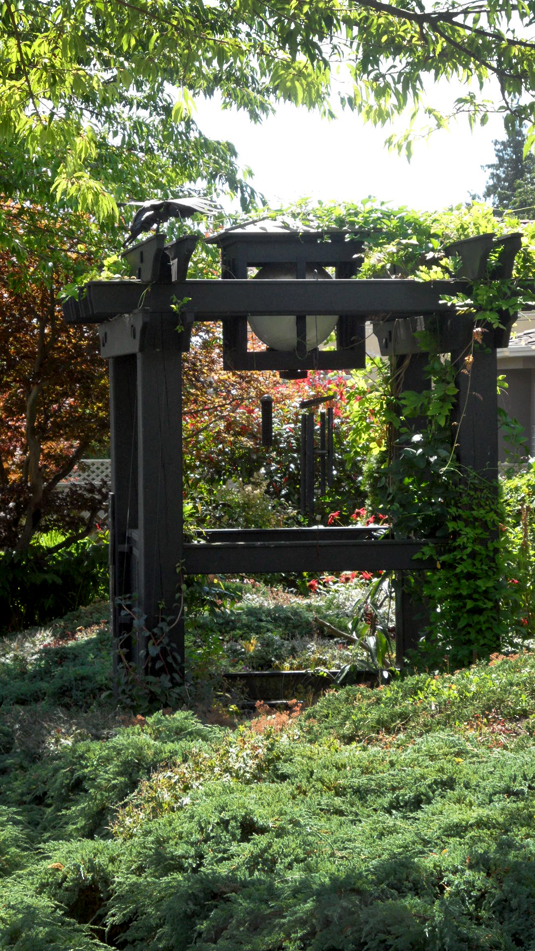 Side View - Arbour & Light