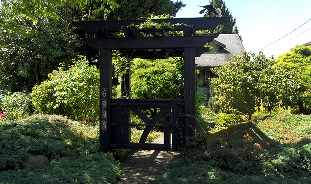 Arbour - Front View