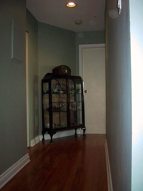 Condo Renovation - Hallway Floor