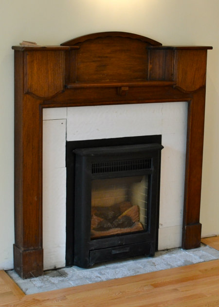 Fireplace Mid Stage of Re-Build