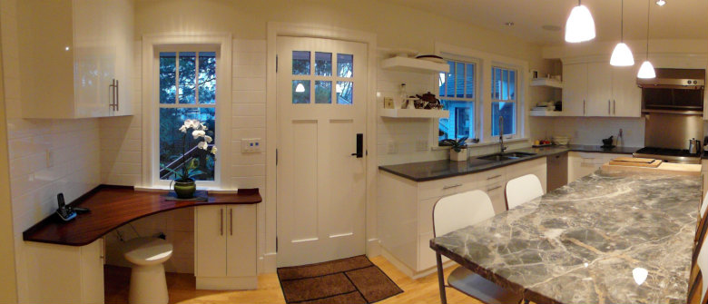 Kitchen Panorama View