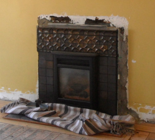Original Fireplace Mid Demo Stage
