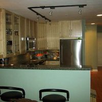 Condo Renovation – Looking Into Kitchen From Dining Area