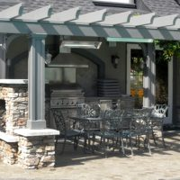 Outdoor Dining Area – Front View
